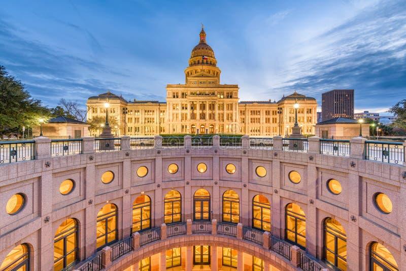 κράτος Τέξας capitol στοκ φωτογραφίες