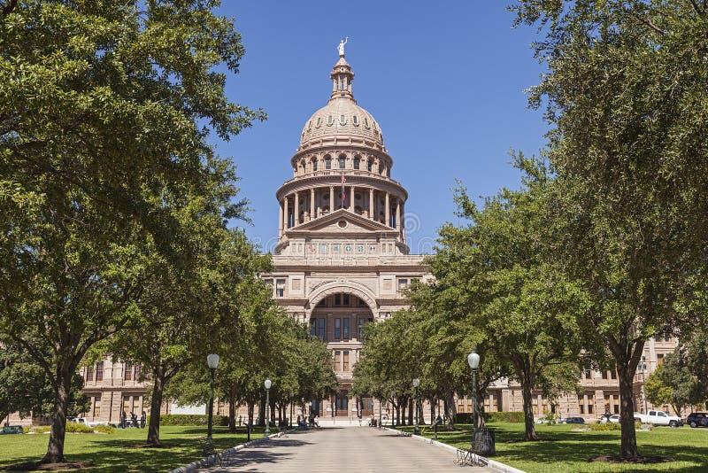κράτος Τέξας capitol στοκ εικόνα