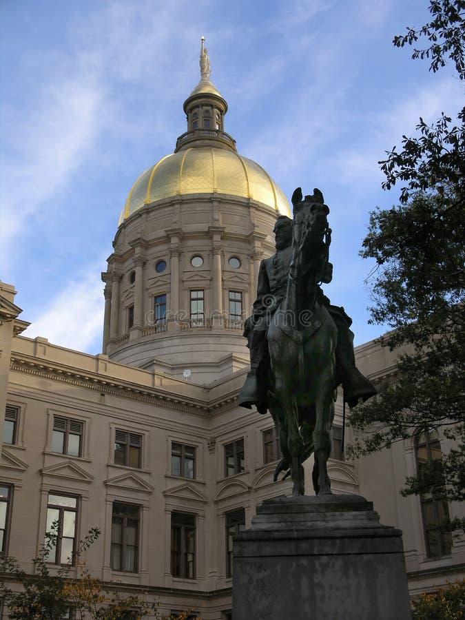 κράτος της Γεωργίας capitol 3 στοκ φωτογραφία με δικαίωμα ελεύθερης χρήσης
