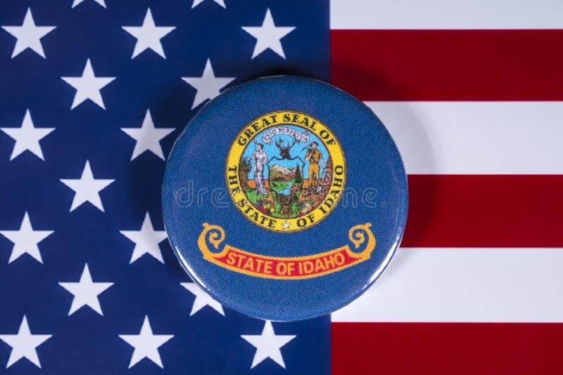Κράτος του Αϊντάχο στις ΗΠΑ στοκ φωτογραφίες