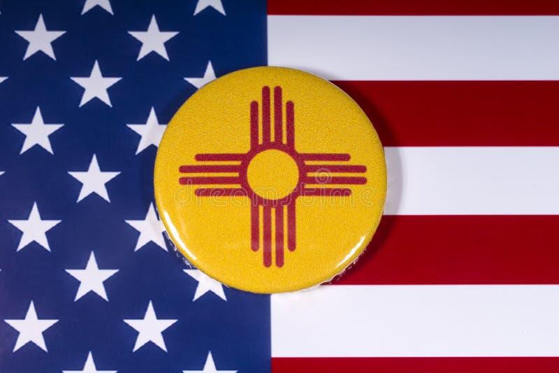 Κράτος του Νέου Μεξικό στις ΗΠΑ στοκ εικόνα