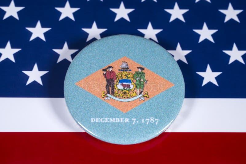 Κράτος του Ντελαγουέρ στις ΗΠΑ στοκ εικόνα