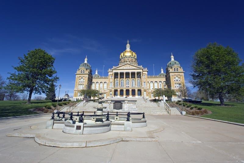 κράτος του Iowa capitol στοκ εικόνες