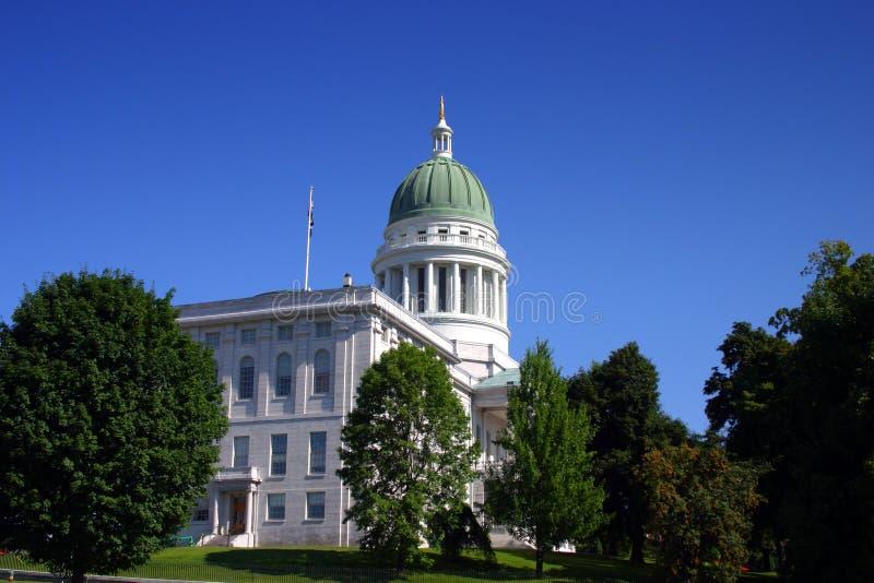 κράτος του Maine σπιτιών του Αουγκούστα στοκ φωτογραφίες με δικαίωμα ελεύθερης χρήσης