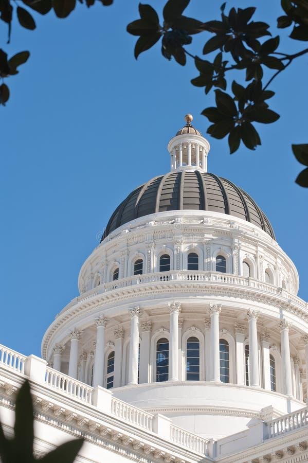 κράτος capitol Καλιφόρνιας στοκ εικόνα