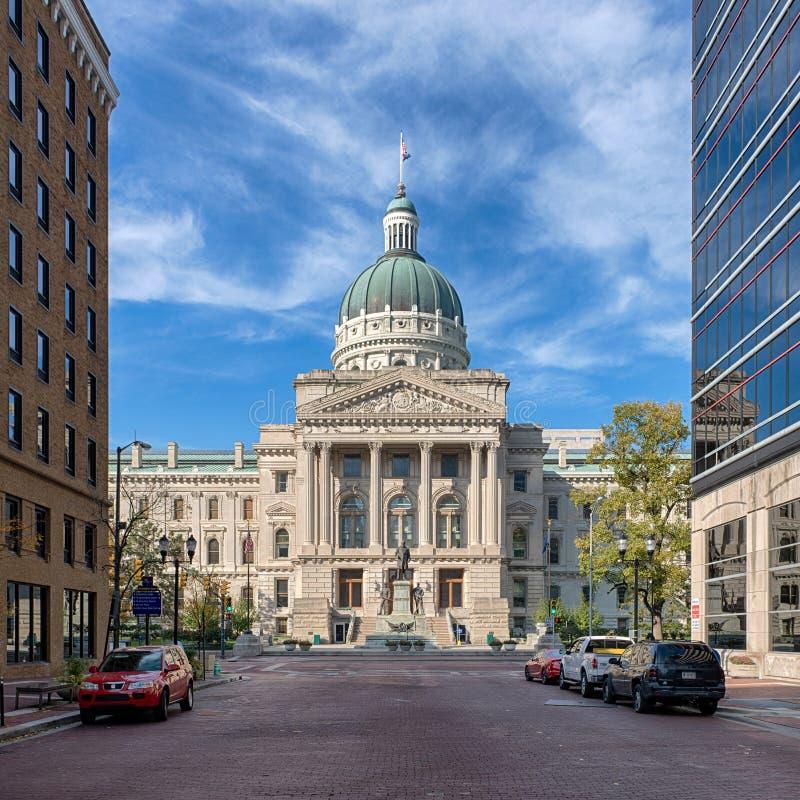 Κράτος Capitol της Ιντιάνα στοκ φωτογραφία