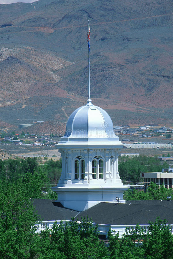 Κράτος Capitol της Νεβάδας, πόλη του Carson στοκ εικόνα με δικαίωμα ελεύθερης χρήσης