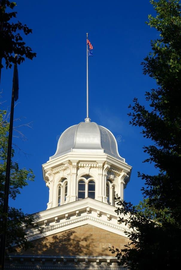 Κράτος Capitol της Νεβάδας - πόλη του Carson στοκ φωτογραφίες