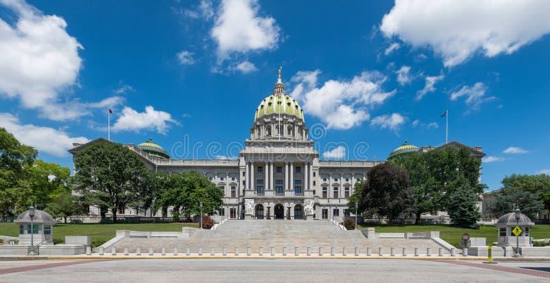 Κράτος Capitol της Πενσυλβανίας στοκ φωτογραφία