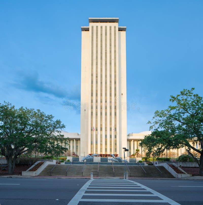 Κράτος Capitol της Φλώριδας που χτίζει το ΛΦ Tallahassee στοκ φωτογραφία με δικαίωμα ελεύθερης χρήσης