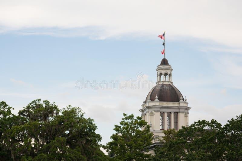 Κράτος Capitol της Φλώριδας που χτίζει το ΛΦ Tallahassee στοκ φωτογραφίες