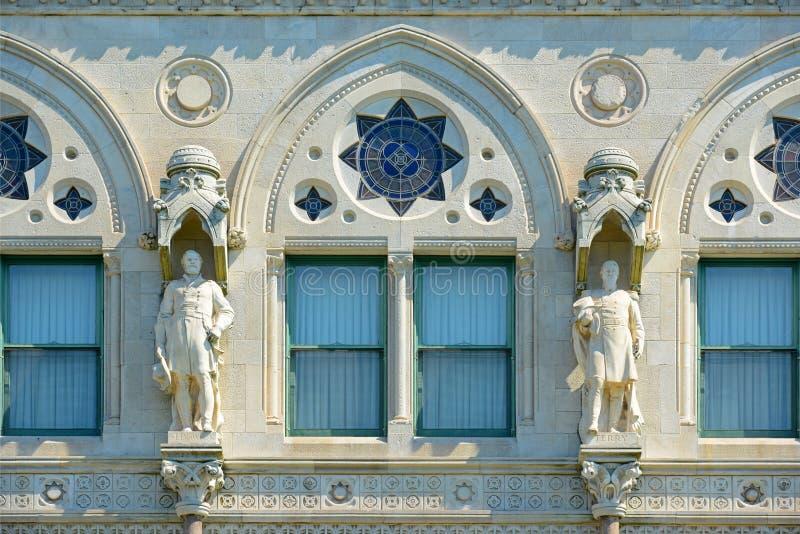 Κράτος Capitol, Χάρτφορντ, CT, ΗΠΑ του Κοννέκτικατ στοκ εικόνα