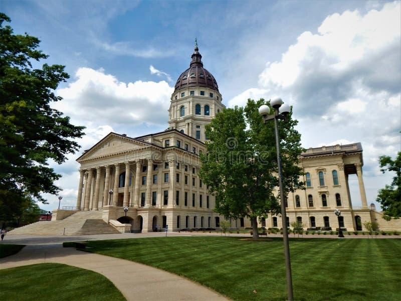 Κράτος Capitol Topeka του Κάνσας στοκ εικόνες