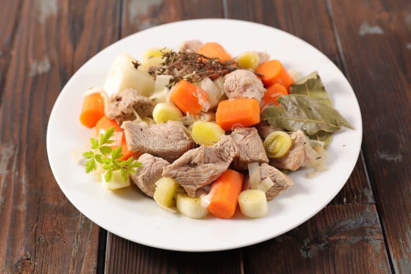 Κρέας και λαχανικό στοκ φωτογραφίες με δικαίωμα ελεύθερης χρήσης
