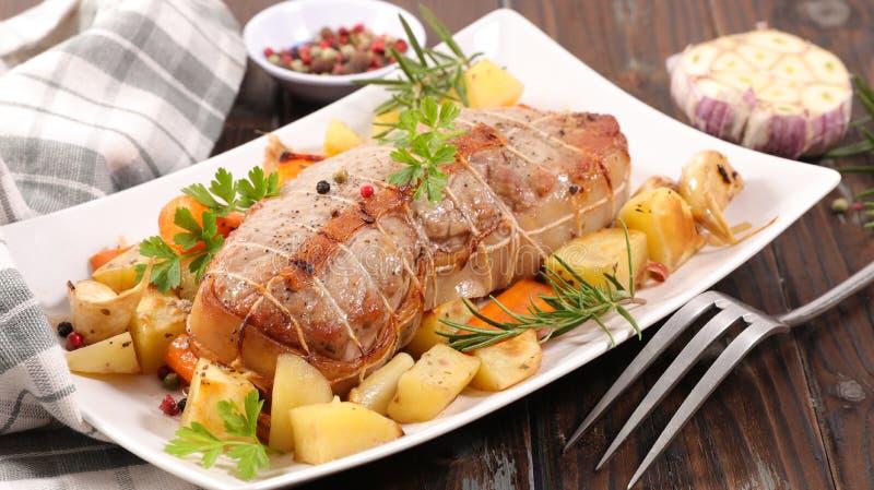 Κρέας και λαχανικό στοκ εικόνες