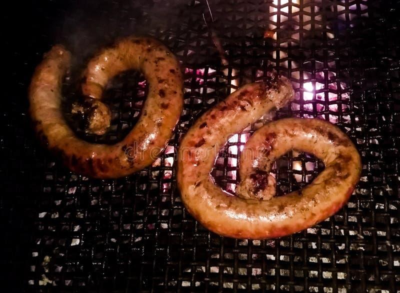 Κρέας, λουκάνικο στοκ φωτογραφία