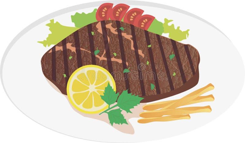 κρέας μπριζόλας στοκ φωτογραφία με δικαίωμα ελεύθερης χρήσης