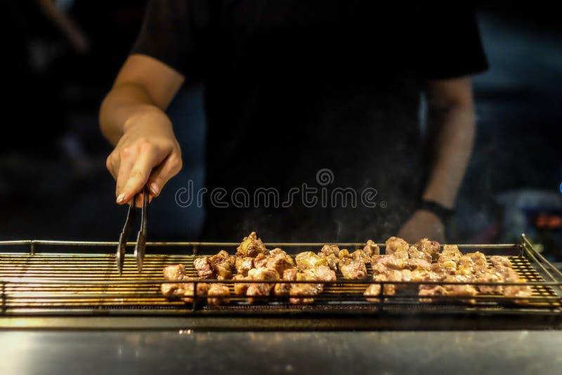 Κρέας σχαρών στοκ φωτογραφία