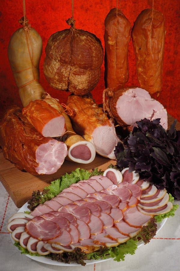 κρέας 3 λιχουδιών στοκ φωτογραφία