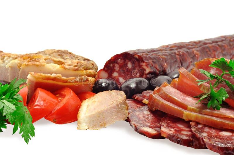 κρέατα deli στοκ φωτογραφία με δικαίωμα ελεύθερης χρήσης