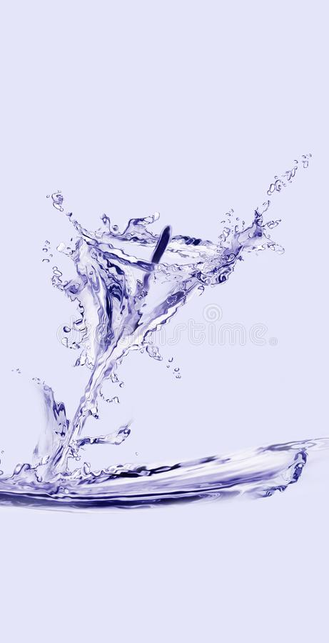 Κρίνος της Calla νερού στοκ εικόνες