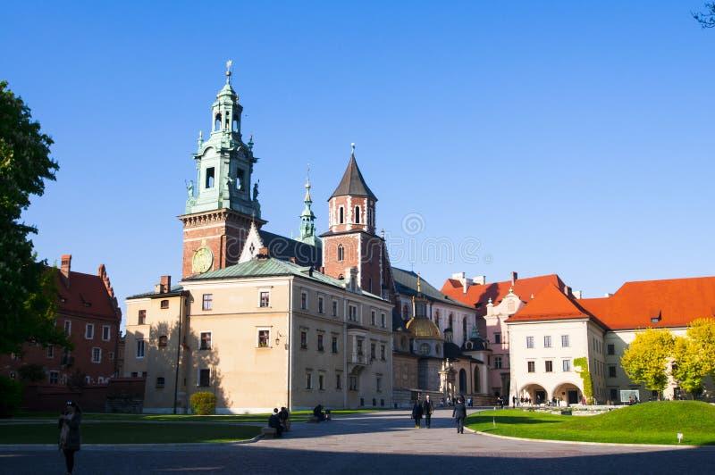 Κρακοβία, Πολωνία Wawel στοκ φωτογραφία