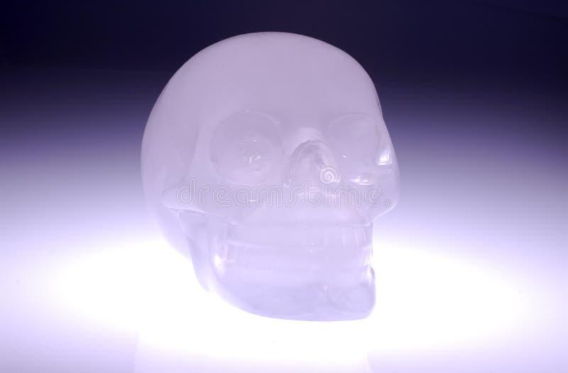 κρανίο γυαλιού στοκ εικόνα με δικαίωμα ελεύθερης χρήσης