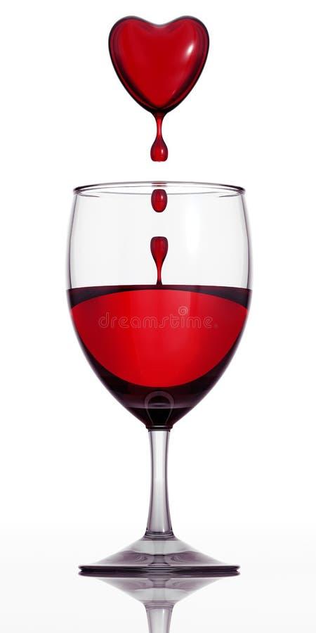 κρασί αίματος στοκ εικόνες