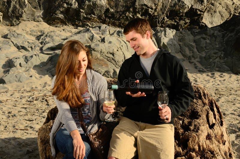 Κρασί ακτών στοκ φωτογραφία