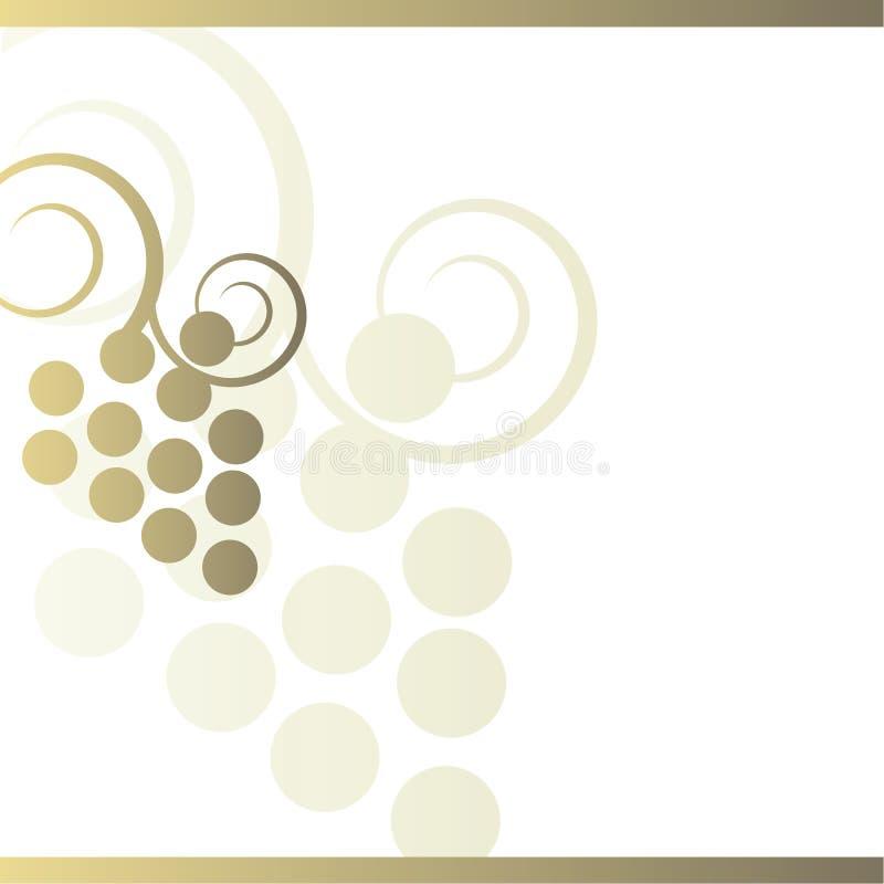 κρασί ανασκόπησης απεικόνιση αποθεμάτων