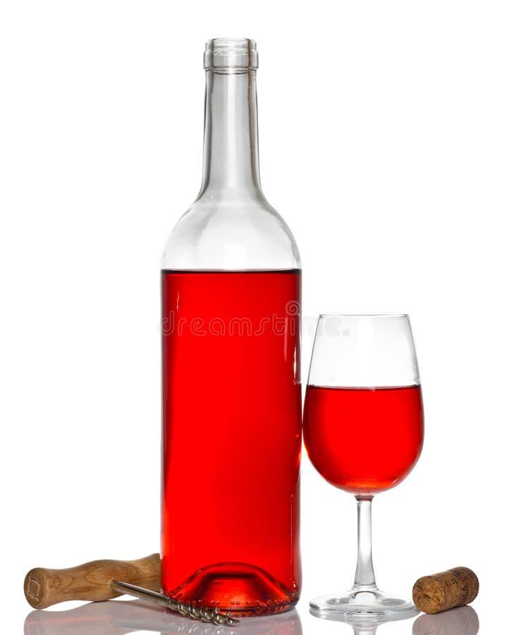 κρασί ανοιχτήρι στοκ εικόνα