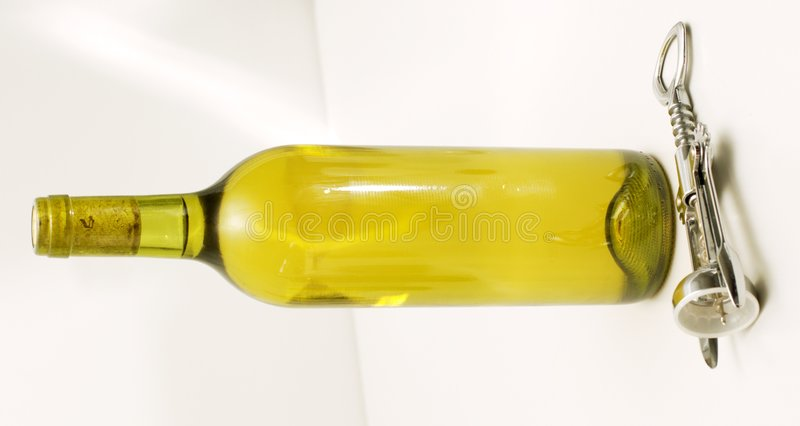 κρασί ανοιχτηριών μπουκα&lam στοκ φωτογραφία