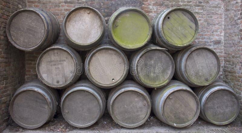 κρασί βαρελιών στοκ φωτογραφία