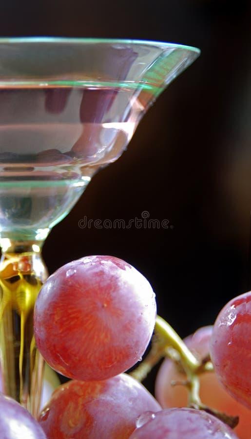 κρασί γυαλιού επιδορπίω&n στοκ εικόνες