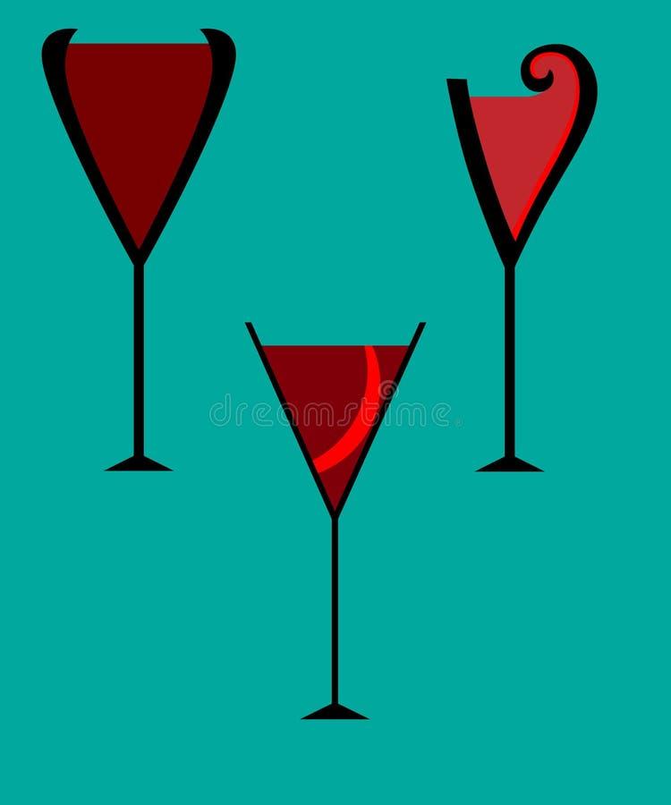 κρασί γυαλιού ελεύθερη απεικόνιση δικαιώματος