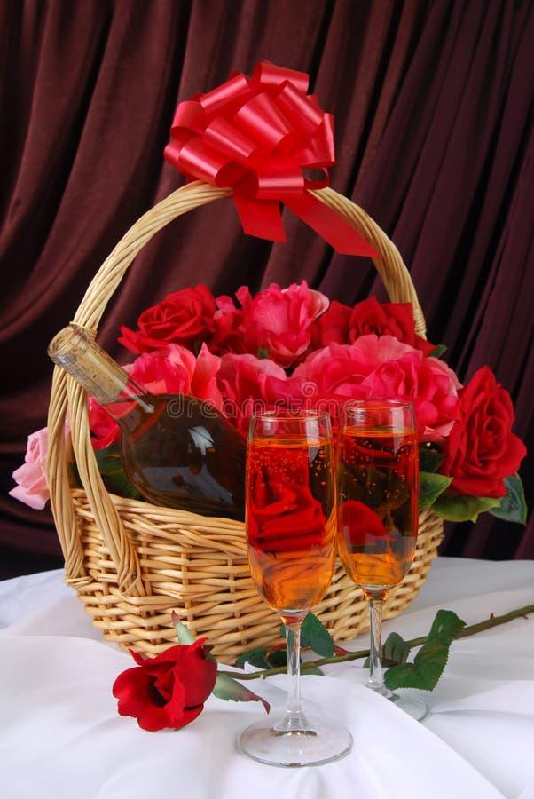 κρασί δώρων στοκ φωτογραφίες