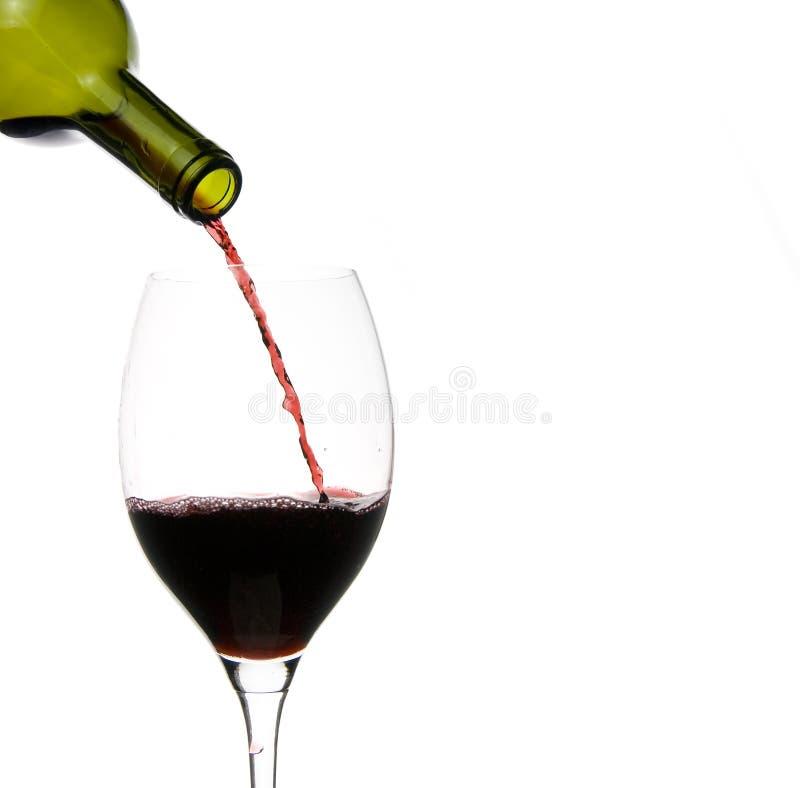 κρασί εστιατορίων γυαλιού στοκ εικόνες