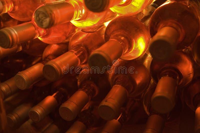 κρασί μπουκαλιών στοκ εικόνα με δικαίωμα ελεύθερης χρήσης