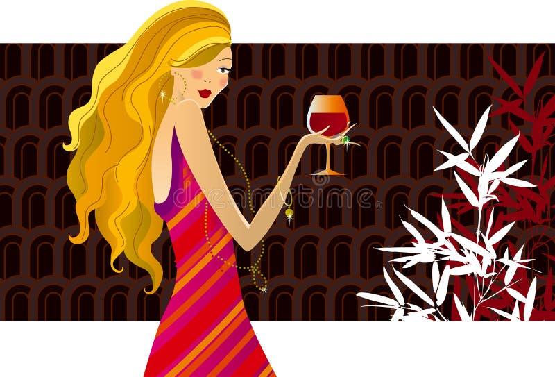 κρασί μόδας ελεύθερη απεικόνιση δικαιώματος