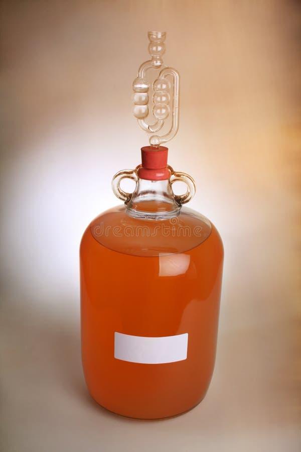 Κρασί ροδάκινων στοκ φωτογραφία με δικαίωμα ελεύθερης χρήσης