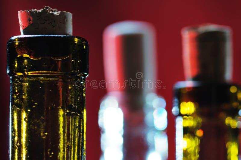 κρασί φελλού μπουκαλιών στοκ εικόνες με δικαίωμα ελεύθερης χρήσης