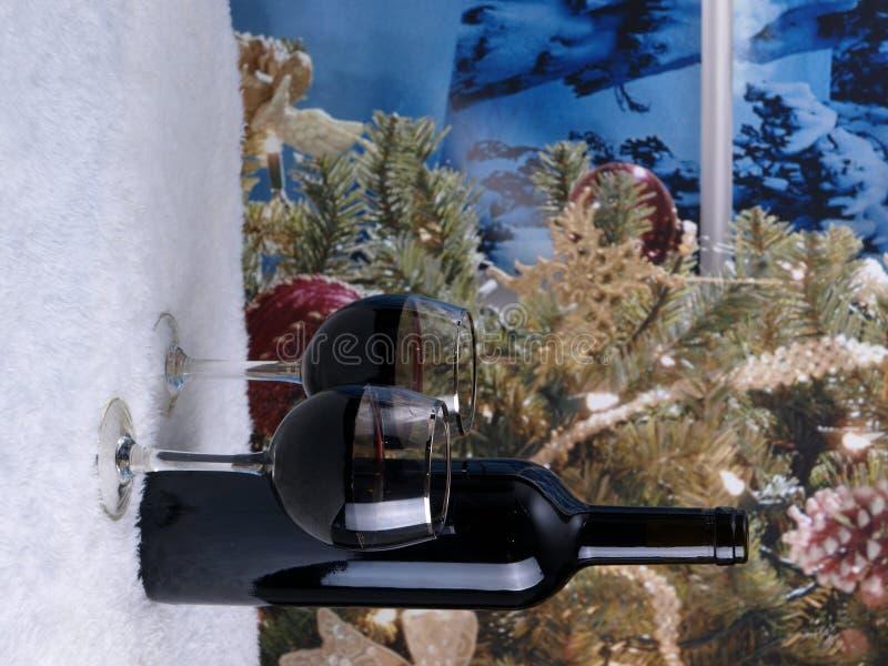 κρασί Χριστουγέννων στοκ φωτογραφίες με δικαίωμα ελεύθερης χρήσης