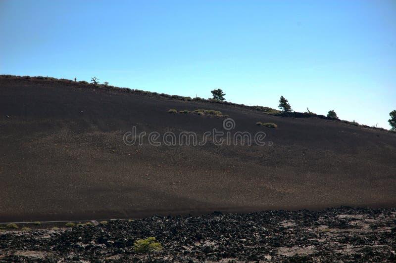 Κρατήρες του φεγγαριού, Αϊντάχο, ΗΠΑ στοκ φωτογραφία