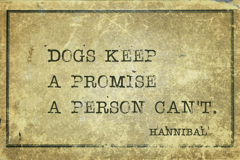 Κρατήστε ένα απόσπασμα του Αννίβα υπόσχεσης στοκ εικόνες