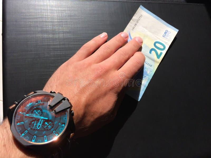Κρατήστε τα χρήματα, στοκ εικόνες