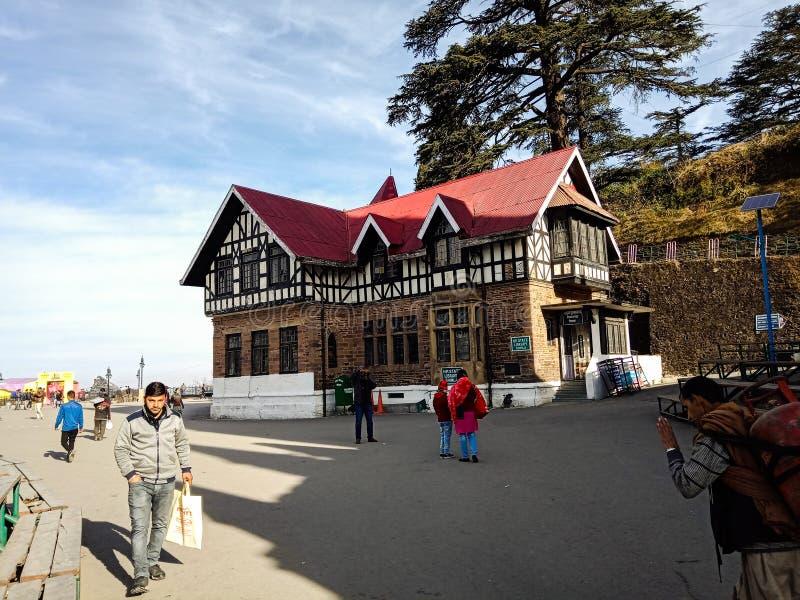 Κρατική βιβλιοθήκη Pradesh Himachal στοκ φωτογραφία με δικαίωμα ελεύθερης χρήσης