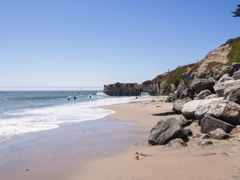 Κρατική παραλία τομέων φάρων στοκ φωτογραφία