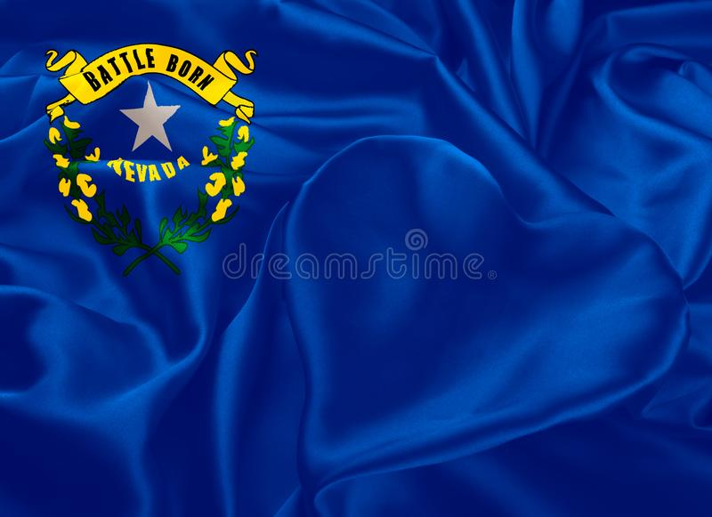 Κρατική σημαία της Νεβάδας διανυσματική απεικόνιση