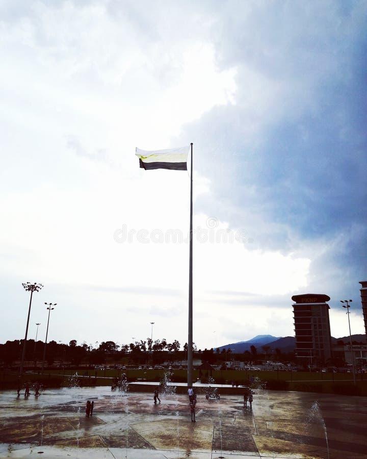 Κρατική σημαία στοκ εικόνα με δικαίωμα ελεύθερης χρήσης