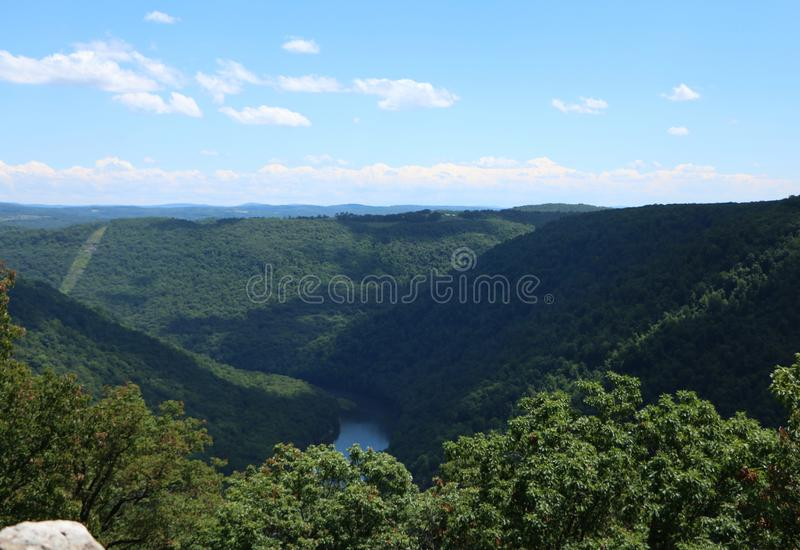 Κρατικό δάσος βράχου του Cooper στοκ εικόνα